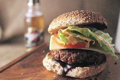 Customer Food Creations - Marcus Bawden from Country Wood Smoke - Gordonian Luxury Aged Steak Burgers