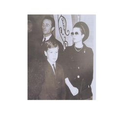 Princess Grace and her son, Prince Albert, at the funeral of Queen Victoria Eugenia of Spain, Godmother of Prince Albert. #gracekelly #princessgrace #pearls #princessgraceofmonaco #princelyfamilyofmonaco #gracekelly #gracedemonaco #graceofmonaco  #royal #royalty #beautiful #elegance #princesscaroline #carolinedemonaco #stephaniedemonaco #princealbert #princessstephanie #princerainier #grimaldis #monaco #montecarlo #france #royalfamily #vanityfair #vogue #realeza #monegasque #glamour #elegant…
