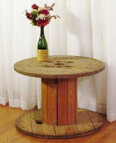 Rustic spindle rental.  Uniquely Yours Wedding Design