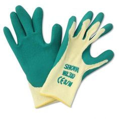 The washable, general purpose gardening gloves feature a nitrile coated palm for exceptional grip in all conditions - no tools slipping out of hands with the Showa Grip Master Gloves - and a breathable back making them extremely comfortable to wear in all weathers and conditions.