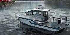 BYTT UT SJARKEN: En P42 i SUV-versjon tenkt for fiske- og opplevelsesturer. (ILLUSTRASJON: Hydrolift)