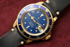 ROLEX SUBMARINER Ref-1680 Blue Nipple 1973y 2.600.000
