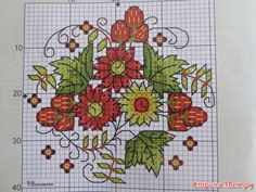 Cross-stitch Country Mason Jar Top Set, part 2...  color chart on part 5...   Gallery.ru / Фото #6 - вышивка схемки разное - pedak