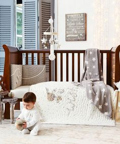 Mamas And Papas Millie Boris Cotbed Coverlet
