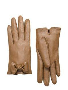 bon bon bow gloves - kate spade new york