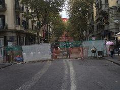 Vomero, notte per la legalità: nel cantiere di via Luca Giordano | Report Campania