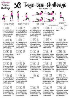 beautiful, tight legs: The Leg Challenge! - Fitness: Workouts & Motivation -For beautiful, tight legs: The Leg Challenge! Fitness Workouts, Fitness Herausforderungen, Fun Workouts, At Home Workouts, Fitness Shirts, Enjoy Fitness, Physical Fitness, Fitness Journal, Health Fitness