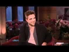 Robert Pattison on Ellen DeGeneres Show