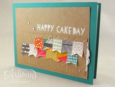 Embossing, doilies, banners, and stitching...I love everything about this card! -Kaitlyn Zumbach