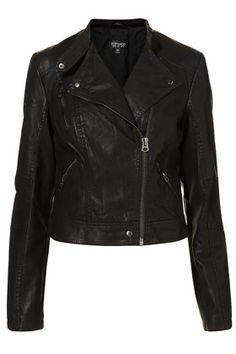 Clean Biker Jacket - Biker & Bomber Jackets - Jackets & Coats - Clothing - Topshop -WANT! Topshop, New Fashion, Fashion Outfits, Womens Fashion, My Wardrobe, Passion For Fashion, Style Me, Stylish, Biker Jackets