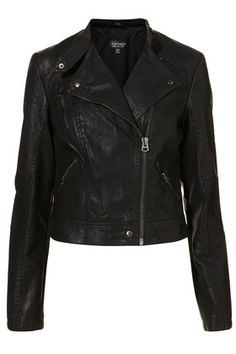 Clean PU Biker Jacket