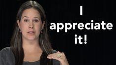 "How to Pronounce ""I Appreciate It"" - American English"