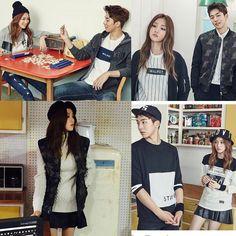 Lee Sung Kyung & Nam Joo Hyuk in Polham 2015 Fall Collection Nam Joo Hyuk Lee Sung Kyung, Jong Hyuk, Sung Joon, Lee Joon, Korean Actresses, Korean Actors, Weightlifting Kim Bok Joo, Joon Hyung, Kim Book