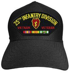 25TH INFANTRY VIETNAM VETERAN Baseball Cap - Meach's Military Memorabilia & More