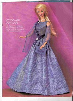 Moldes de roupas para Barbie