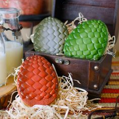 Game of Thrones Dragon Egg Cookies, by Semi Sweet Designs