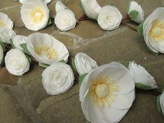Wedding Garland/Paper Flowers/Wedding Arch by LandofFlowers