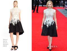 Sarah Gadon In Oscar de la Renta - Dracula Untold' London Premiere - Red Carpet Fashion Awards