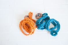 Sisters Take on Pinterest - Crochet Wrap Bracelet - these work up quickly and make great stocking stuffers! Would work well as a neighbour gift or for teacher gifts too