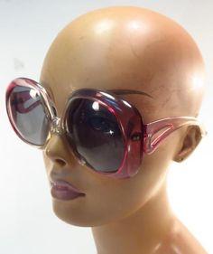 e88c90a28d9 Vintage 70 s Purple Gradient Tint Sunglasses - Italy    Unbranded 1970s  Sunglasses