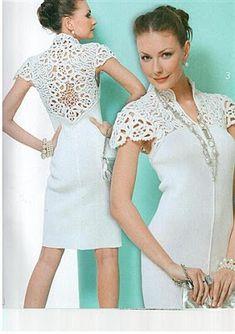 Edivana Croche: Vestido Branco Lindíssimo