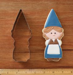 Handmade Girl Gnome Cookie Cutter by KlickitatStreet on Etsy, $5.00