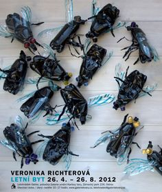 Up-Cycling-Kunst von Veronika Richterova... via Designchen