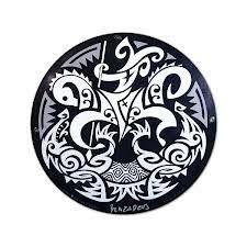 Resultado de imagem para sao jorge tattoo maori