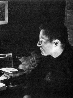 Иосиф Бродский , 1964 г., Норенская (ссылка). Фотограф: А.И.Бродский.