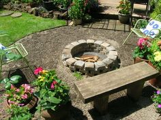 definitely need to get going on one of these for the backyard! would be perfect for marshmallow roasting in fall :)