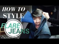 HOW TO STYLE FLARE JEANS - STYLE ME T - YouTube