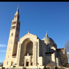 The Basilica in Washington,DC