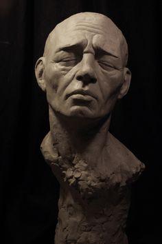 finished life-size bust by dpeteuil.deviantart.com on @deviantART