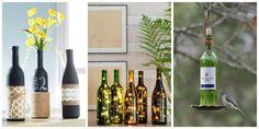 Wine Bottle Crafts - DIY Wine Bottles