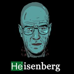 Camiseta Breaking Bad. Heisenberg, He2
