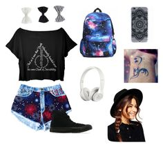 """""""Untitled #8"""" by madnessismymiddlename ❤ liked on Polyvore featuring Converse, Beats by Dr. Dre, ASOS and Accessorize"""