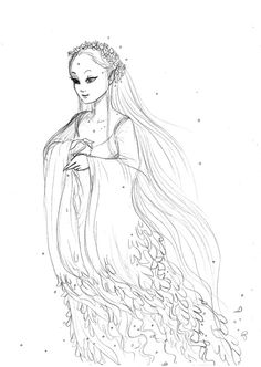 #RotG #Retreat #Nymphs | An Alseide, or Alseid, a type of nymph who lives and protects glens and groves