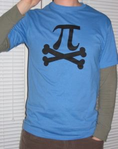 Pi-rate Shirt (This shirt was made for me by redstar13 for the 13 days of Halloween swap THANKS!)