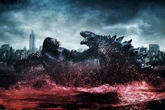 'Godzilla vs Kong' to Begin Filming This October! Godzilla Raids Again, Godzilla 2, Godzilla Tattoo, King Kong, Ip Man, Alex Luthor, New Movies, Movies Online, Crane