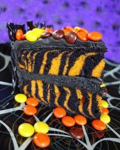 Spooktacular Halloween Candy Cake | Plain Chicken