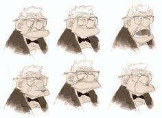 Carl facial expressions https://www.facebook.com/CharacterDesignReferences