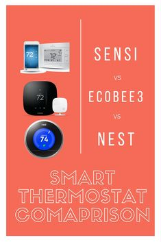 Choosing the right smart home thermostat can save you hundreds of dollars on your HVAC bills. Sensi vs. Ecobee3 vs. Nest.