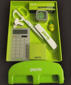 Psych contest prizes - I really want that 3 hole punch!