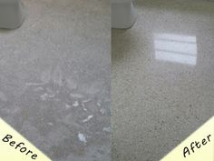If you're not confident cleaning your #terrazzo floors, make sure you hire a professional! Keep those floors look sparkling new!