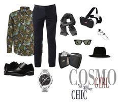 """Men's Fashion"" by room140701 ❤ liked on Polyvore featuring MSGM, Urban Pipeline, Stacy Adams, TAG Heuer, Banana Republic, Samsung, Ray-Ban, men's fashion and menswear"