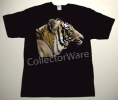 Tiger drawing 2 CUSTOM ART UNIQUE T-SHIRT   Each T-shirt is individually hand-painted, a true and unique work of art indeed!  To order this, or design your own custom T-shirt, please contact us at info@collectorware.com, or visit http://www.collectorware.com/tees-1animals.htm