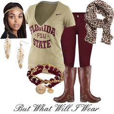 Garnet and Gold Game Day #FloridaState #FSU #Seminoles