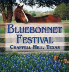 Texas State Bluebonnet Festival - The Chappell Hill Bluebonnet Festival