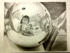 J. Lee Distortion Art, Value Drawing, Plastic Problems, Window Reflection, Art Quiz, High School Art Projects, Drawing Sketches, Drawings, Ap Studio Art