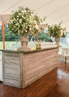 Tented Backyard Wedding | Melani Lust Photography | Marcia Selden Catering/Events | Reverie Gallery Wedding Blog